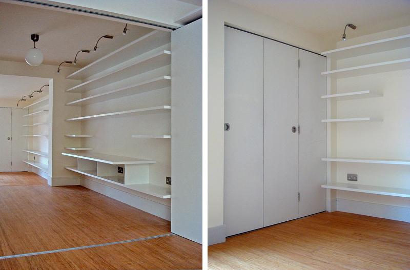 Long wall / folding doors
