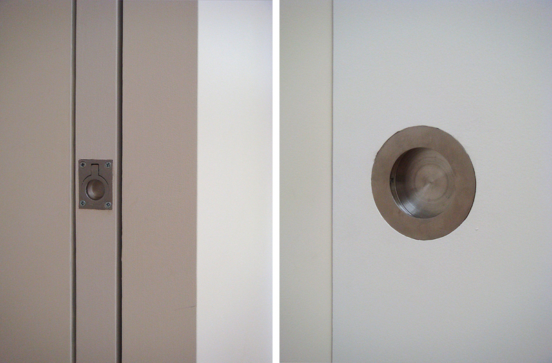 Flush handles