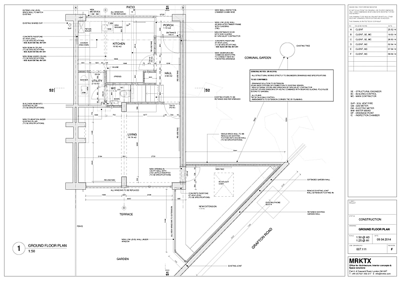 bar construction plans